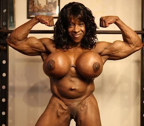 stars porn ebony women muscle