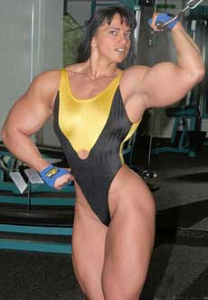 Futanari female muscle growth igfap