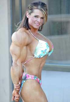 Naked female bodybuilder wwe 6
