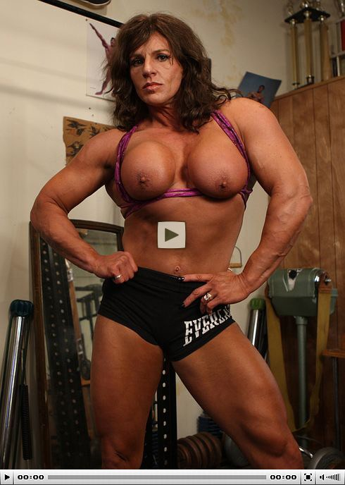 Women female fucking muscle